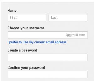 Maak een Google Account aan